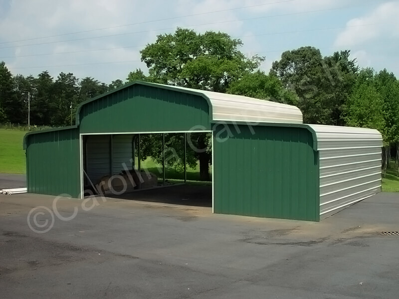 Regular Style Horse Barn with Two Ends Closed-309
