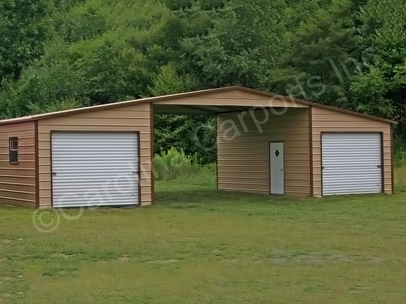Boxed Eave Roof Style Seneca Barn-333