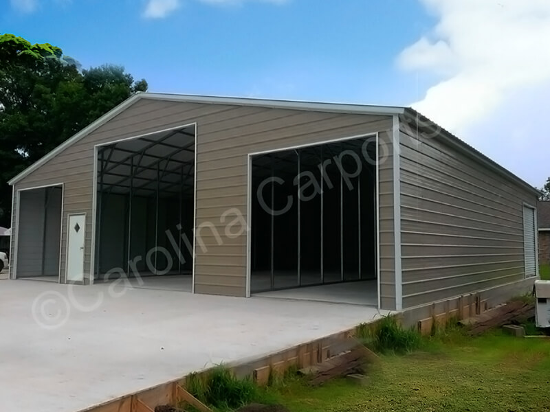 Vertical Style Seneca Barn Fully Enclosed-336