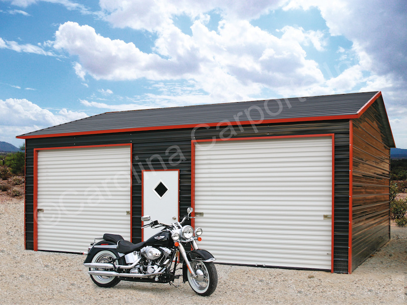 Two Garage Doors-392