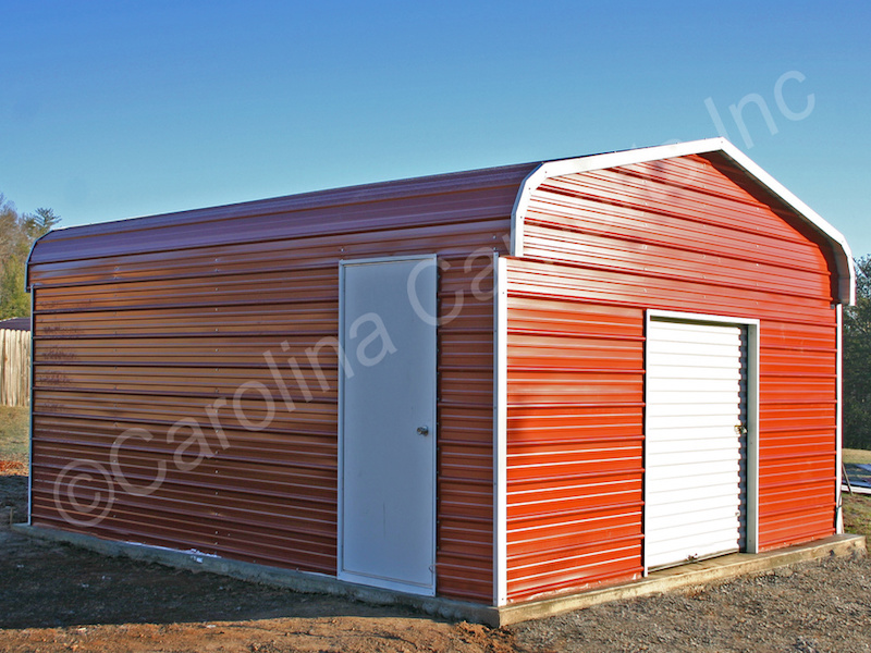 Garage with a 6x6 Garage Door-395