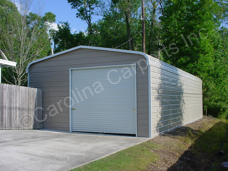 Garage with One 9x8 Garage Door