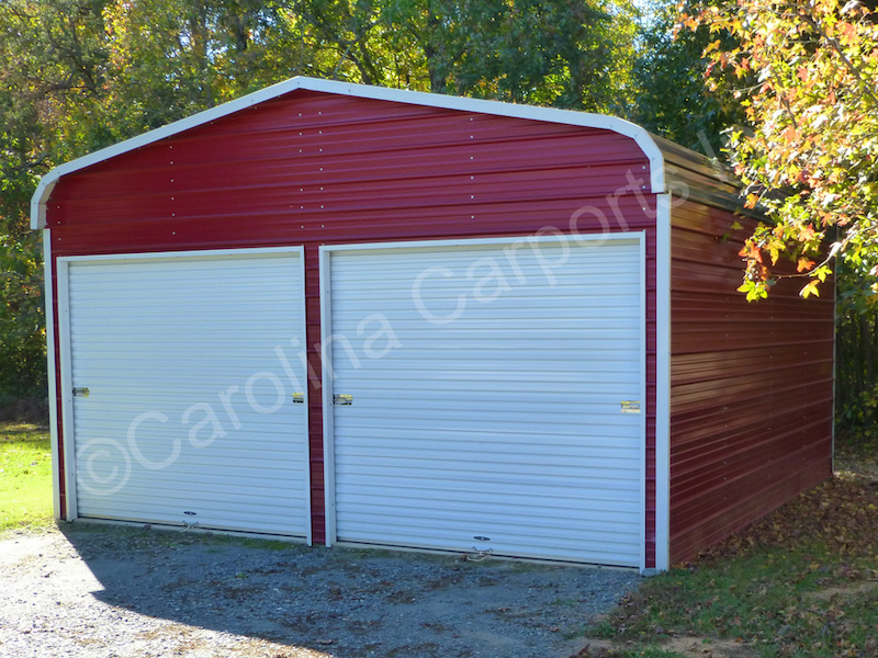 Garage with Two 9x8 Garage Doors-398
