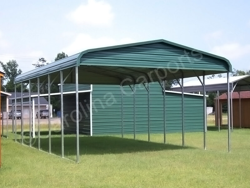 Regular Style Carport Top Only with Gables-258