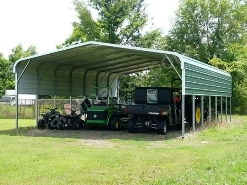 Regular Style Carport with One Panel