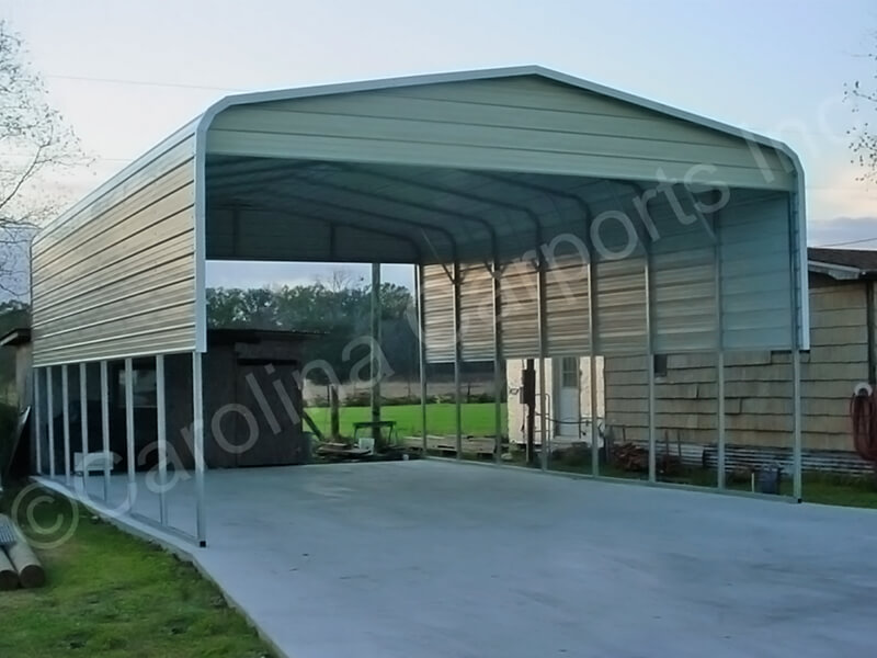 Regular Roof Style Carport with Two Panels-270