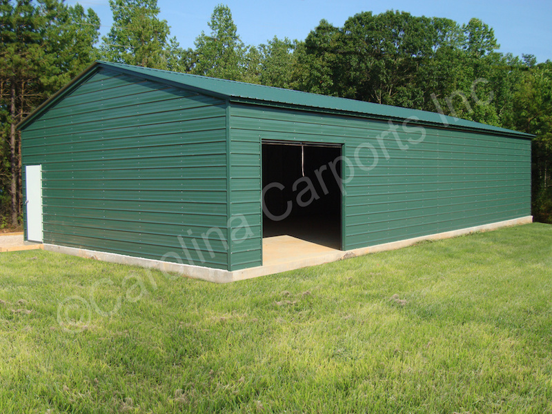 Vertical Roof with Horizontal Sides and Ends-420