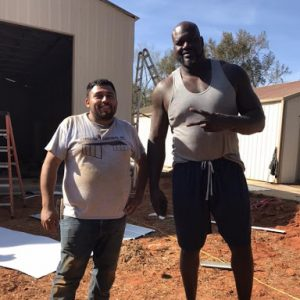 Carolina Carports Shaquille O'Neil