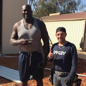 Shaq and Carolina Carports